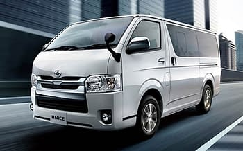 Toyota hiace available for hire in nairobi at kes.10000